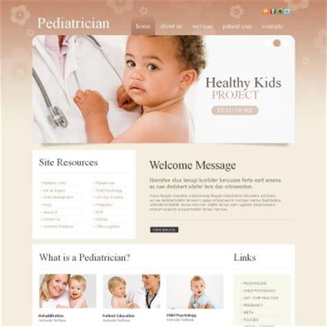 Pediatrician Templates Templatemonster Pediatrician Website Template
