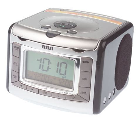 rca stereo clock radio  cd player automatic time set qvccom