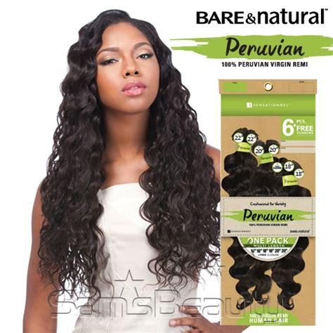 sensational bohemian sensationnel unprocessed peruvian virgin remy human hair