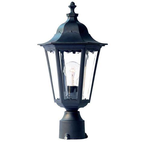 Outdoor Lighting Post Mount Acclaim Lighting Tidewater 1 Light Matte Black Outdoor Post Mount Light Fixture 47bk The Home