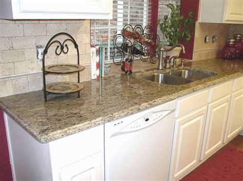 Santa Granite Countertops by Home On Venetian Gold Granite Santa Cecilia