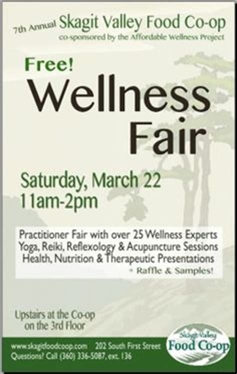health and wellness flyer template health and wellness fair flyer template clipartsgram