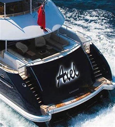 scritte illuminate insegne per le barche sx3 realizza il brevetto che va