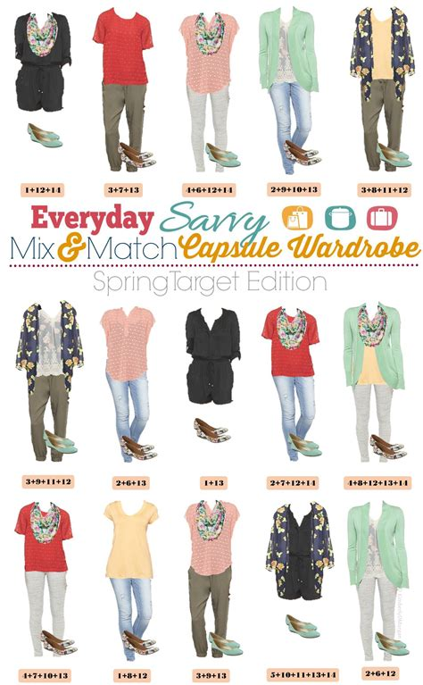 Wardrobe Mix And Match Ideas target capsule wardrobe mix and match ideas