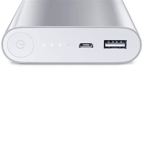 Xiaomi Powerbank 10400mah Silver xiaomi mobile power bank usb charger 10400mah