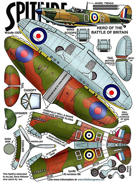 Ww2 Papercraft - 22 best images about papercraft on paper plane