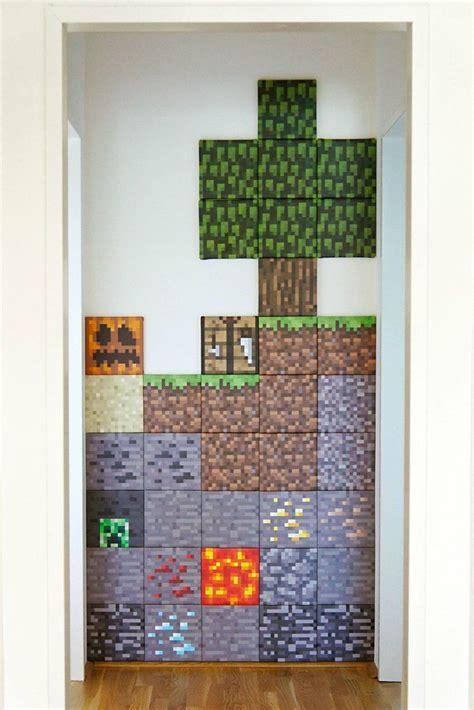 Minecraft Wall Diy
