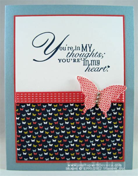 Thinking Of You Handmade Cards - tips for mass producing handmade cards ink it up with