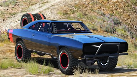 dodge charger lifted gta v pc mods dodge charger road fast furious 7