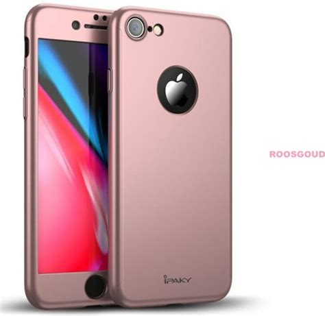 Ipaky 360 Protection Iphone Samsung S8 Navy kunststof original ipaky 360 176 protect hoesje iphone 7 rosegoud cover hoesje