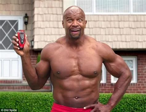 terry crews football team terry crews play his own wife in old spice s pre super