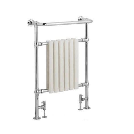 traditional heated towel rails for bathrooms jupiter bathrooms traditional chrome and white heated