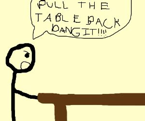 Put The Table Back by Put The Table Back Dammit