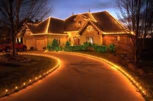 house decorated with lights make your magical simple ways of draping your