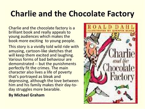 and the chocolate factory book report basic essay writing guidelines of