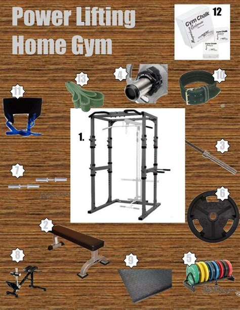 Crossfit Garage Essentials by Powerlifting Essentials For The Home Home