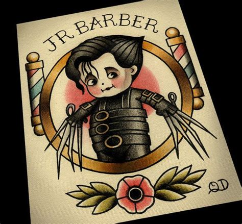 barber tattoo designs best 25 barber ideas on mustache