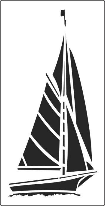 boat stencil sailboat stencil gallery