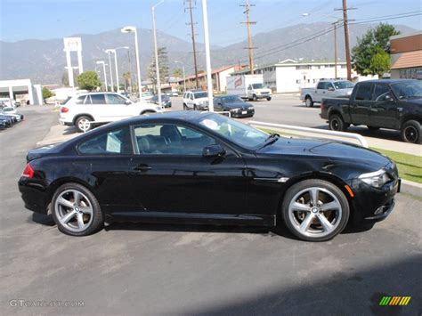 2008 bmw 650i jet black 2008 bmw 6 series 650i coupe exterior photo