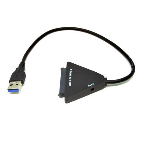 Converter Harddisk Ke Usb kabel konverter sata ke usb 3 0 hdd ssd black