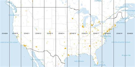 utm map how universal transverse mercator utm works gis geography