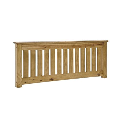 shaker headboards shaker solid pine antique finish slatted headboard in
