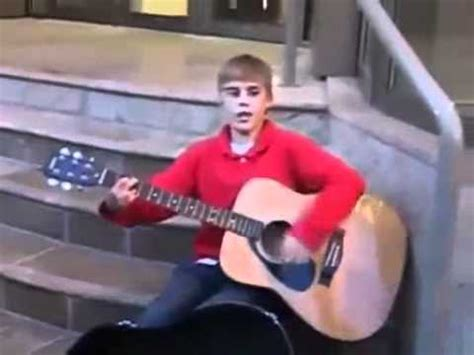 justin bieber biography before he was famous justin bieber singing on the streets before he became