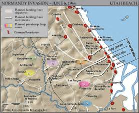 Utah Beach Map by Utah Beach World War Ii Britannica Com
