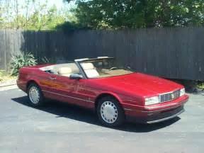 Cadillac Allante 1993 1989 Cadillac Allante Values Hagerty Valuation Tool 174