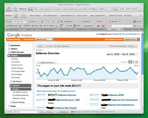 adsense overview analyzing adsense performance with google analytics