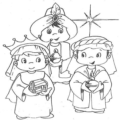 dibujos de navidad para colorear e imprimir reyes magos cartas para los reyes y dibujos infantiles de los reyes