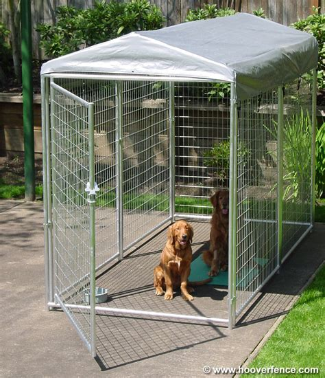 wire kennel 2 x 4 welded wire modular kennel systems hoover fence co kennels and runs