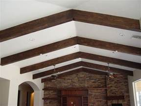 elevate your ceilings with faux wood beams realm of