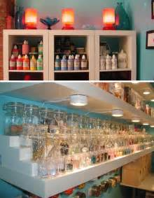 Cheap Craft Room Storage Ideas - incredible crafts room uses cheap space saving solutions