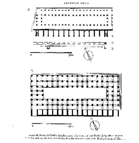 roman basilica floor plan roman basilicas