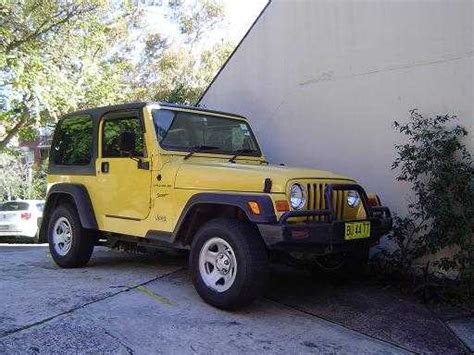 Jeep Wrangler For Sale Nsw 4wd Vehicles