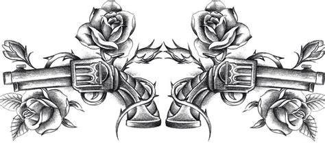 gun rose tattoo guns and roses tattoos guns guns