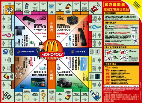 How To Use Mcdonalds Monopoly Instant Win - image gallery monopoly at mcdonald s