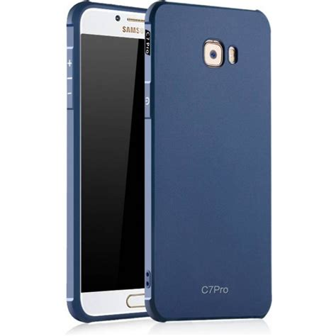 samsung c7 pro blue cover for samsung galaxy c7 pro back cover from category insasta