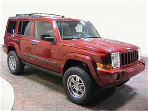 2006 Jeep Commander Lift Kit Jeep Commander 2 5 Quot Rocky Road Jeep Commander Lift