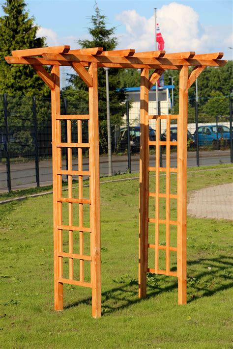 Rosenbogen Holz Selber Bauen 1130 by Rosenbogen Pergola Spalier Gartentor Torbogen Rankgitter