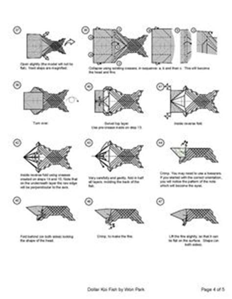 Origami Koi Fish Diagram - 1000 images about projects to try on money