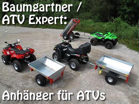 Motorrad In Deutschland Kaufen Und Nach österreich Importieren by Baumgartner Atv Expert Anh 228 Nger F 252 R Atvs Und Quads
