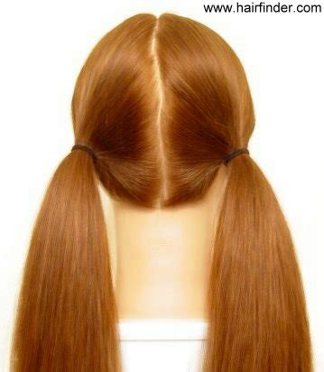 Coupe De Cheveux Couette by Queues De Cheval Couettes Et Topknots