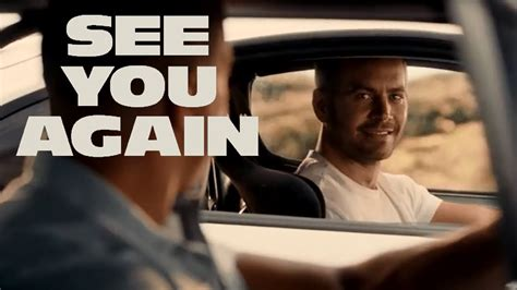 fast and furious when i see you again wiz khalifa pay tribute to paul walker