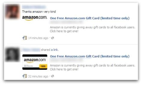 Amazon Gift Card Scam - free amazon com gift card promotion is a facebook scam dataprotectioncenter com