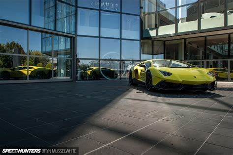 Lamborghini Factory Italy Aventador Production Line 39