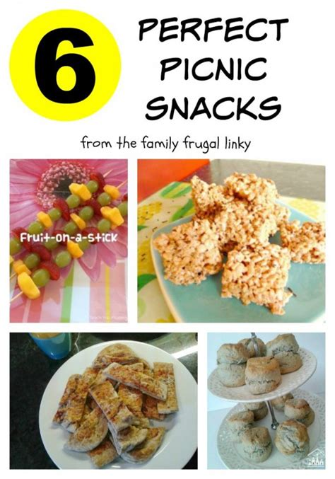 perfect picnic snacks crafty kids at home