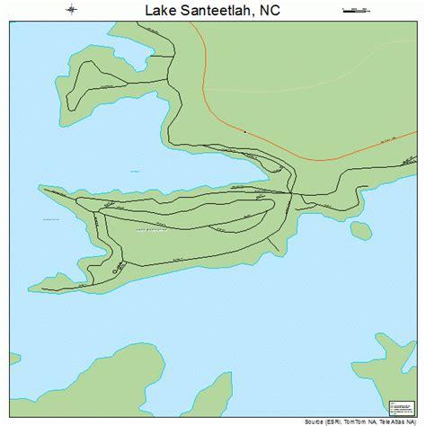 lakes in carolina map lake santeetlah carolina map 3736513