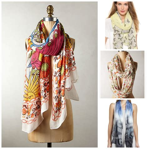 Dress Scarf shop the look 20 scarves to wear in the summer and fall